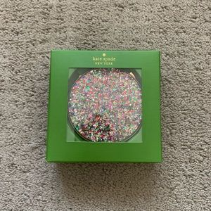 Brand New-Kate Spade Simply Sparkle Compact Mirror